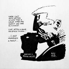 Homage to Frank Miller. NUDO.