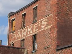 Parke's Coffee / Adolph Fruchter « Ghost Sign Project Terrazzo, Vintage Walls, Signage, Brick, Branding, Coffee, Projects, Kaffee, Log Projects