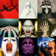 American Horror Story, Horror Stories, Halloween Face Makeup, Joker, Fictional Characters, Art, Art Background, American Horror Stories, Kunst