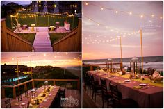 Can you just imagine?  Ceremony or Reception on the Event Lawn and Dinner overlooking the Atlantic Ocean on the Observation Deck