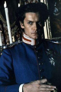 "Helmut Berger as Ludwig II of Bavaria in ""Ludwig II"" (1972). Director: Luchino Visconti."