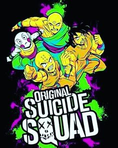 The real suicide squad! c2: @dragonball_memes please give credit if reposted thanks Follow: @dbz.go for more hot content! stay saiyan! Your Opinion Is Important: Leave A Comment