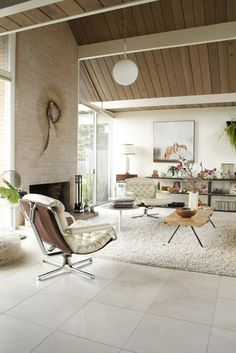 Eclectic Eichler living room - eclectic - living room - san francisco - Samantha Schoech