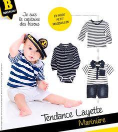 En mode moussaillon, mon Loulou va être le plus beau ! #layette #marin