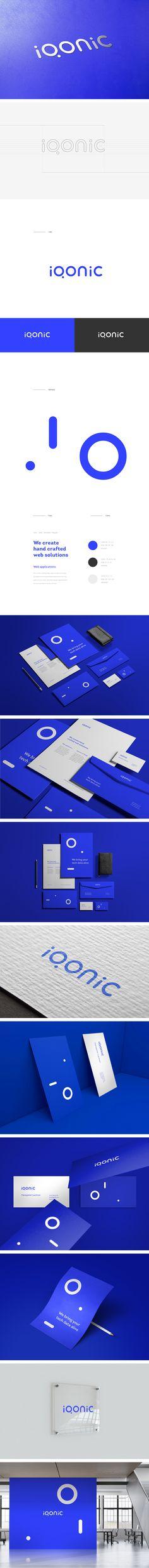 Iqonic - Logo / Identity on Behance