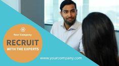 Recruitment modern professional video template
