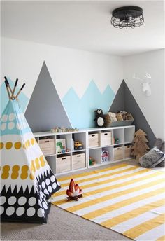 COLORFUL CONTEMPORARY PLAYROOM IDEAS, INSPIRATION DECOR