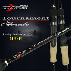 KUYING 2.1M Tournament Double Tips MH H Casting Spinning Carbon Lure Fishing Rod Pole Stick Medium Fast Action Free Shipping #jewelry, #women, #men, #hats, #watches