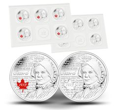 Laura Secord - 25-cent Circulation 10-pack (2013) Laura Secord, Coins, Stamps, Canada, Personalized Items, Metal, Paper, Collection, Coining