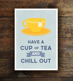 Tea Lover Print by Graphic Anthology on Scoutmob Shoppe
