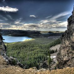 Newberry National Volcanic Monument is celebrating it's 25 anniversary as a National Monument. It is an amazing place if you haven't ever been there, just south of town. It looks out over the lava flows.