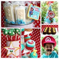 Super Mario Bros birthday party inspirations-from-catch-my-party