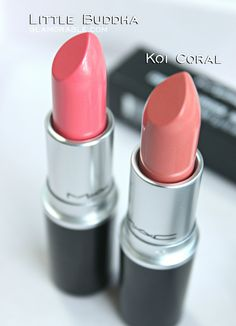NEW MAC Cremesheen Pearl Lipsticks are finally here! Today on the blog I posted MAC Koi Coral swatch & Review, and MAC Little Buddha Swatch & Review. Check them out on the blog >> https://glamorable.com | via @glamorable
