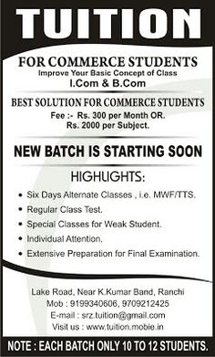 Posters For Tuition Classes Google Search Flyer
