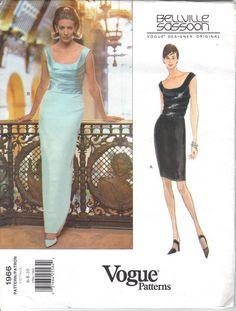 Bellville Sassoon Vogue Designer Original 1966 by AvalonandKelly, $35.00