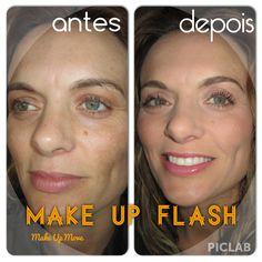 Resultado final # Make Up Flash