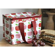 apple lunch bag by kiki's gifts and homeware   notonthehighstreet.com