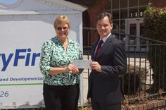 June 2013 AbilityFirst Newsletter. THANK YOU TO SOUTHERN CALIFORNIA EDISON for their generous donation of $20,000 to AbilityFirst to be used for programs and services to help children and adults with disabilities.