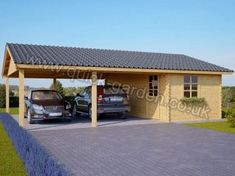 Wooden Storage Shed Car Ports New Ideas Carport Sheds, Carport Plans, Rv Carports, Pergola Carport, Pergola Kits, Pergola Ideas, Car Shelter, Canopy Shelter, Wooden Storage Sheds