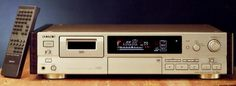 SONY DTC-59ES (launched 1993) Cd Audio, Hifi Audio, Magnetic Tape, Tape Recorder, Digital Audio, Sound & Vision, Audiophile, Decks, Sony