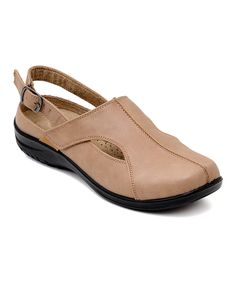Take a look at this Taupe Cassie Slingback Clog today!