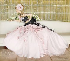 Google Image Result for http://fredjack.blog.com/files/2011/02/black-pink-wedding-dress-island-bridal.jpg