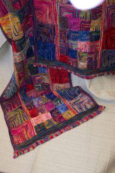 Ravelry: Mosaic Shawl pattern by Marji LaFreniere