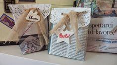 Sacchetti in carta di giornale per le vostre creazioni Handmade - TUTORIAL