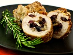 Chicken Stuffed with Brie and Walnuts - An Experiment