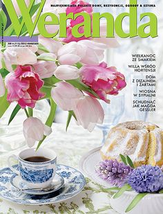Okładka magazynu Weranda 4/2012 www.weranda.pl