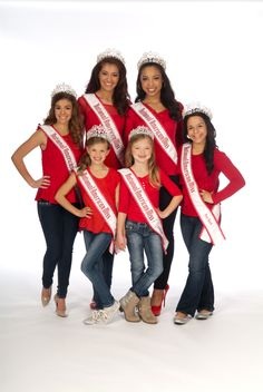 2013-2014 National American Miss Queens
