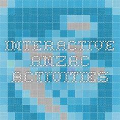 interactive Anzac Activities