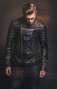 Covet Leather! Mens Fashion Finds