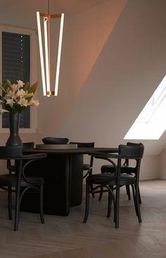decoracion de comedores mesa negras sillas cuero negro ideas