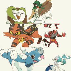 Se filtran las formas finales de los Pokémon iniciales de Pokémon Sol y Luna. http://www.alfabetajuega.com/noticia/pokemon-sol-luna-podria-haber-confirmado-las-formas-finales-de-sus-pokemon-iniciales-n-74326 #videojuegos #Nintendo #pokemon #3ds