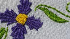 Hand Embroidery Tutorial |  Kadai Kamal Stitch |  HandiWorks #29