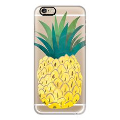 iPhone 6 Plus/6/5/5s/5c Case - It's a Pineapple Phone ($40) ❤ liked on Polyvore featuring accessories, tech accessories, iphone case, apple iphone cases, iphone cover case and slim iphone case