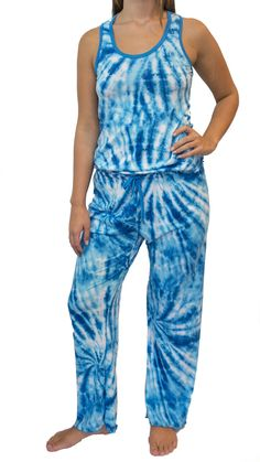 Tie-Dye Skies Pajama Pants Set