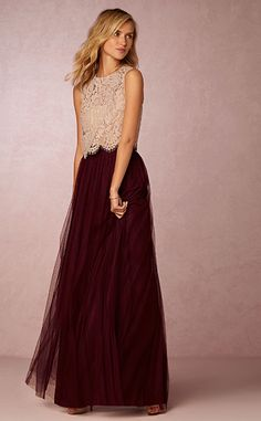 Bhldn.com || A unique idea for bridesmaid dresses