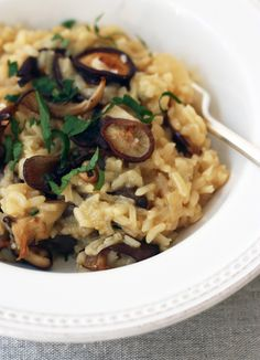 Fried Wild Mushroom Risotto