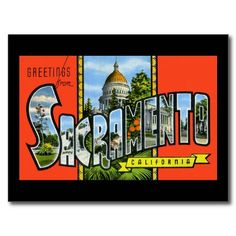 20 best greetings from california postcards images on pinterest greetings from sacramento california postcard m4hsunfo