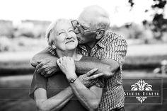Beautiful portrait of elderly people