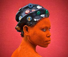 """Patrick Willocq - """"Walé Ntembe, the doubter"""", from the series 'Walé, Regard' - 2015 Congo, Sophisticated Hairstyles, The Rite, Photography Contests, Photography Magazine, Collaborative Art, French Photographers, World's Biggest, Photo Colour"""