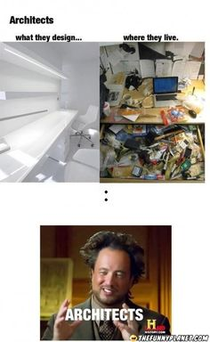 Architects - What They Design Vs Where They Live. xD