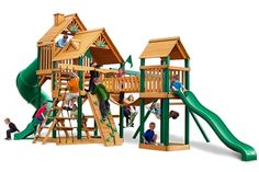 Treasure Trove (Wood Roof) - Gorilla Playsets