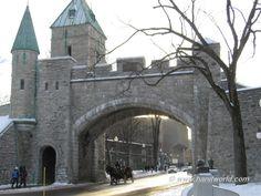Puertas de Quebec, Canadá.