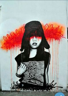 Street Art by Findac, located in London, UK
