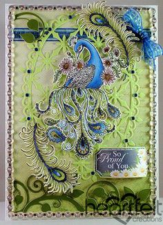 Heartfelt Creations | Proud Peacock