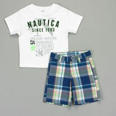 Cute Baby Boy Outfits, Little Boy Outfits, Cool Outfits, Teen Boys, Toddler Boys, Girls, Kids Fashion Boy, Set Sail, Short Set