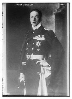 """Prince Adalbert of Prussia (Adalbert Ferdinand Berengar Viktor) (14 July 1884 in Potsdam, Germany – 22 September 1948 in La Tour de Peilz, Switzerland) was a son of Kaiser Wilhelm II of Germany by his first wife, Princess Augusta Viktoria of Schleswig-Holstein."""